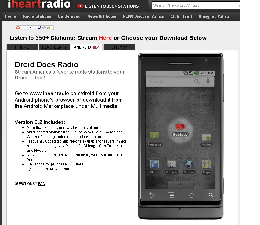 iheartradio Is Now Available For Android Devices –