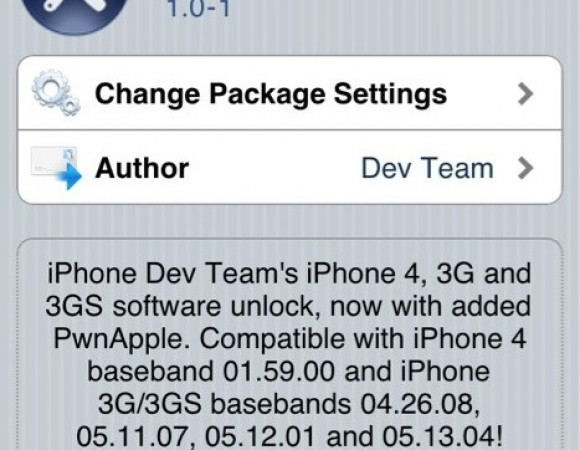 iPhone 4/ 3GS/ 3G Unlock With iOS4 Now Available