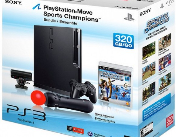 PS3 160GB And 320GB Move Bundle Coming To US, Europe In September