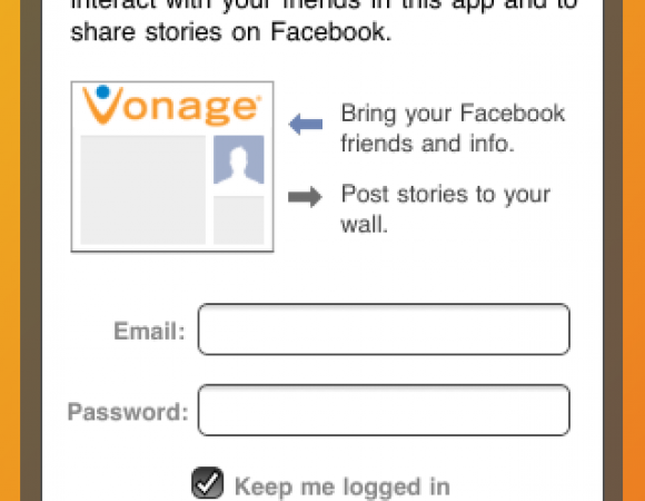 Vonage Launches Vonage Mobile Facebook App For iPhone And Android
