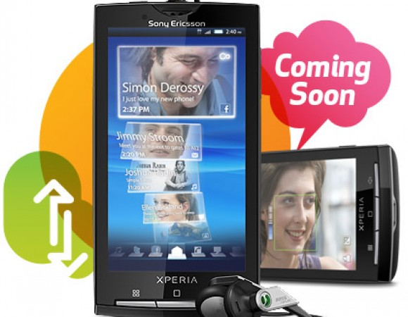 SonyEricsson Xperia X10 Coming To AT&T On August 15th For $149.99