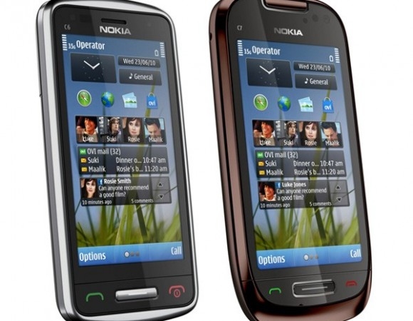 Nokia Announces The Symbian3-Powered C6 And C7