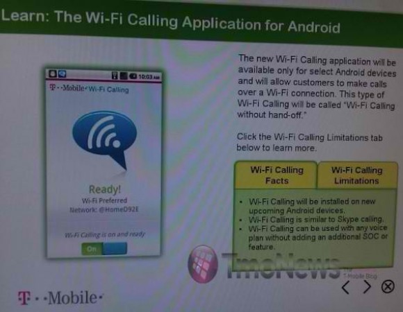 T-Mobile Officially Announces Wi-Fi Calling For Android