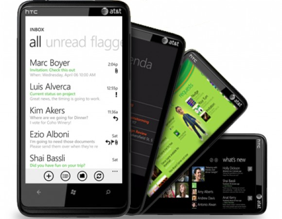 AT&T Announces The Android-Powered, 3D Display LG Thrill 4G And The WP7 HTC HD7S