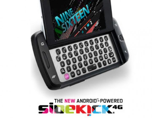 The T-Mobile Sidekick 4G Is Now Available