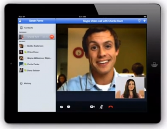 Skype For The iPad 2 Is On The Way