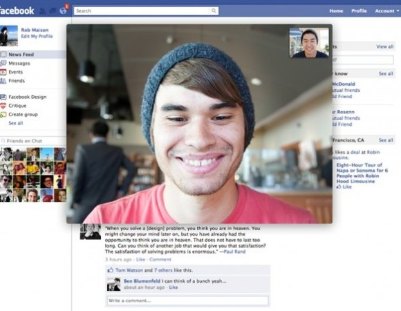 Facebook Teams Up With Skype To Bring Video Chatting, Also Announces Group Chat