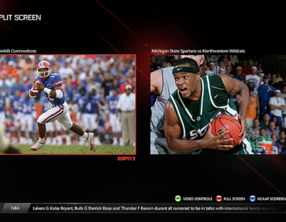 Xbox Live To Update The ESPN App In August Offering New Features Like Split-Screen, Kinect Support & More