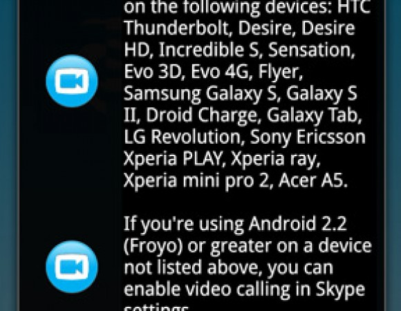 Skype Update For Android Adds Video Calling Support For More Devices & Tablets