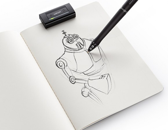 Wacom Introduces Their New Inkling System That Turns Live Ink Into Digital