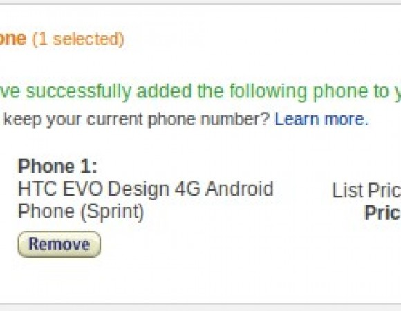 Smart Buy: You Can Pick Up The HTC EVO Design 4G For $29.99 At Amazon