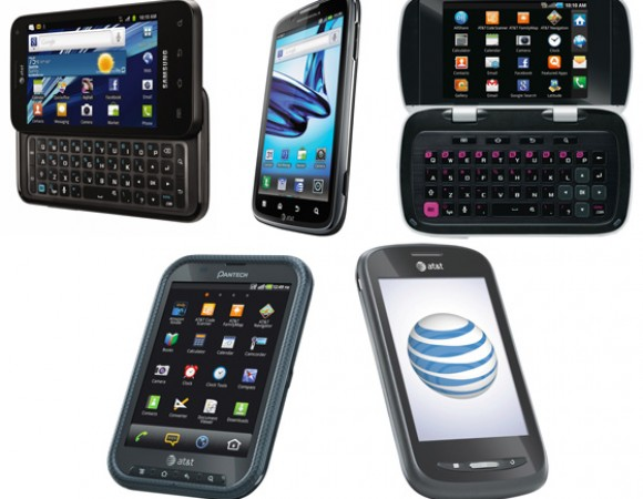 AT&T Announces 5 New Android Devices: The Motorola ATRIX 2, Samsung Captivate Glide, DoubleTime, Pantech Pocket, And AT&T Avail