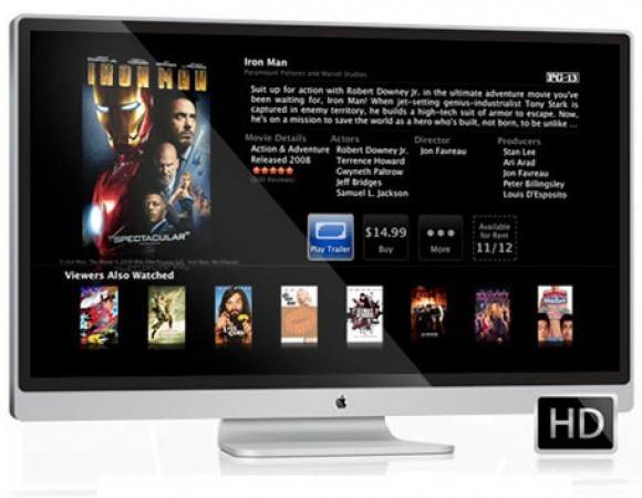 Is Apple Working With Sharp To Provide Displays For The iTV And The iPad 3?