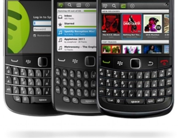 Spotify Is Now Available For BlackBerry