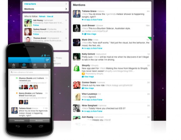 Twitter Updates Web App Along With Android & iOS