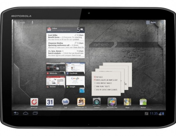 Verizon & Motorola Makes The Next Generation XOOM Official With The DROID XYBOARD Tablets
