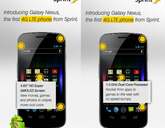 Sprint Is Prepping To Roll Out Their LTE Network With The Galaxy Nexus Being Their 1st LTE Phone