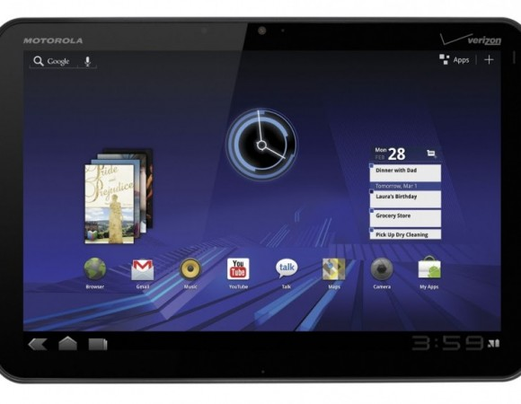 The Wi-Fi Motorola XOOM Is Now Receiving Android 4.0 (Ice Cream Sandwich) Update