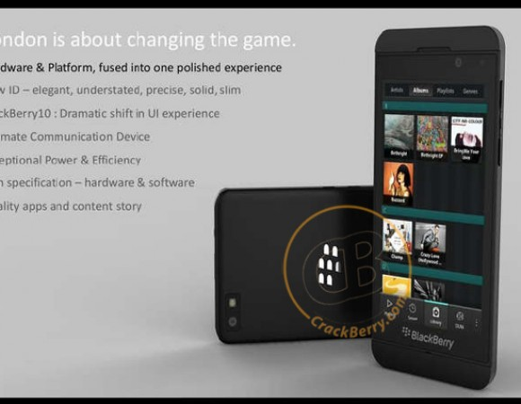 RIM's First BlackBerry 10 Device Leaked, Looks Better Yet Familiar