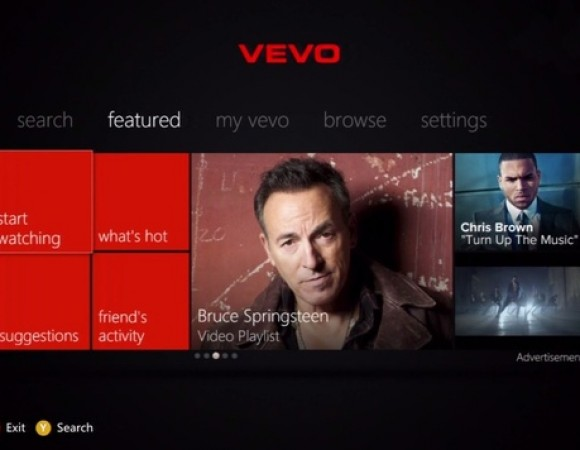 VEVO's Music Video Streaming Service Has Landed For Xbox Live