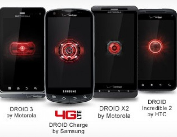 The Droid X2, Droid 3, Droid Charge, Droid Incredible 2, & Rhyme For Verizon Are All On Sale