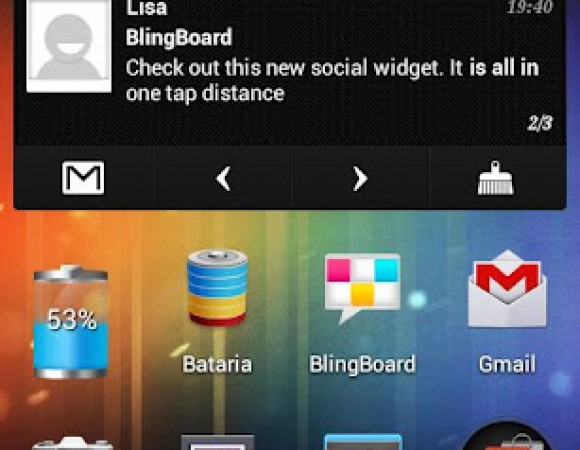 Meet BlingBoard, An Android App That Puts Your Social Life Into One Widget