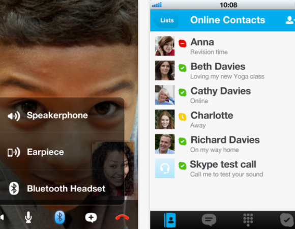 Skype for iOS Gets A Nice Update Today
