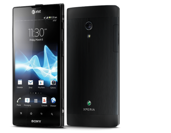 The Sony Xperia Ion For AT&T Is Now Available