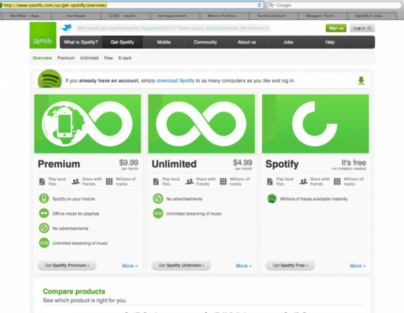 Spotify Has Unlimited Music For Free (iOS Only as of now)