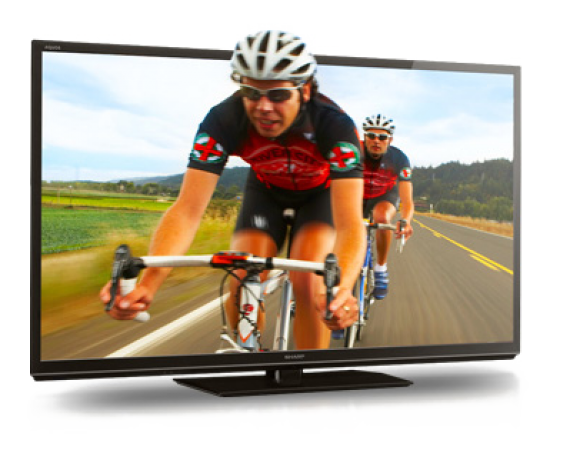 Sharp Introduces a 90 inch LED 3D HDTV