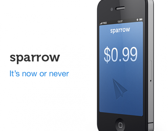 Sparrow For iOS On Sale Until Thursday