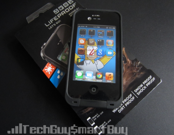Review: Lifeproof Case For The iPhone 4S, The Name Says Its All