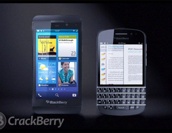 First Look At The First BlackBerry 10 Devices