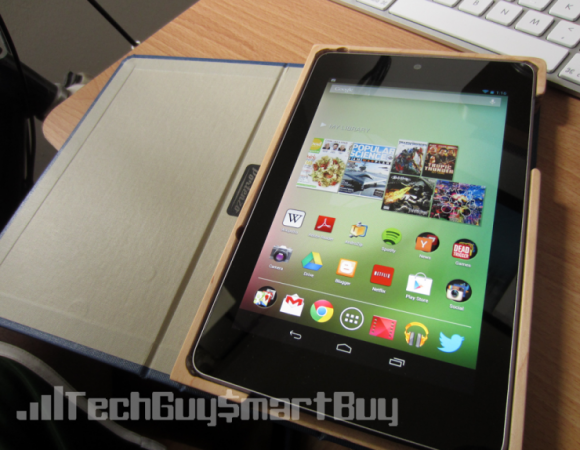 Portenzo Has A BookCase For Your Nexus 7 That You Want To Check Out