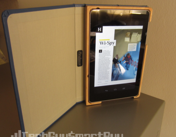Review: The Portenzo Custom BookCase For The Nexus 7