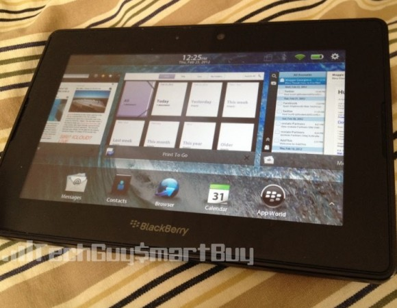 The BlackBerry PlayBook Gets Updated To v2.1.0.1032