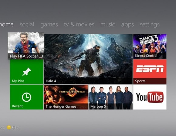 Xbox's New Dashboard Update w/ Internet Explorer & Xbox Music Begins Rolling Out
