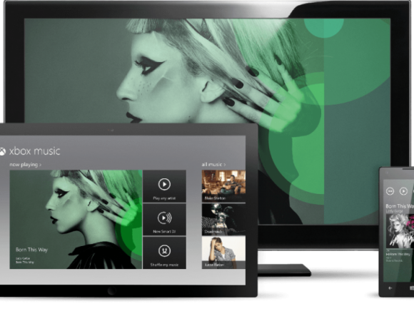 Xbox Music Coming Tomorrow To Xbox, Preloaded On Windows 8 & WindowsPhone 8 Devices (Video)