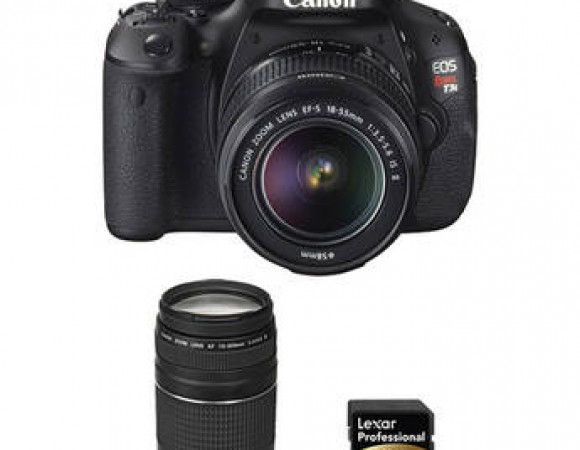 Smart Buy: Get A Canon Rebel T3i DSLR w/ 2 Lenses For $600 + Free Shipping