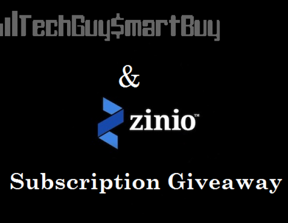 You Can Win 1 Of 9 Free Online Magazine Subscriptions Courtesy Of Zinio (Giveaway)