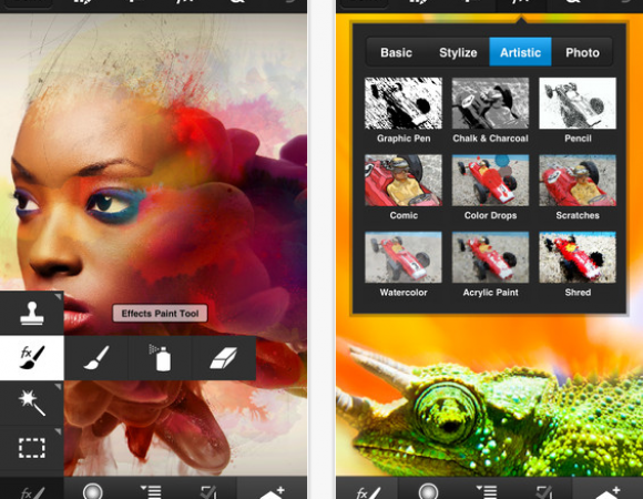 Adobe Photoshop Touch Makes Its Way To Smartphones (Video)
