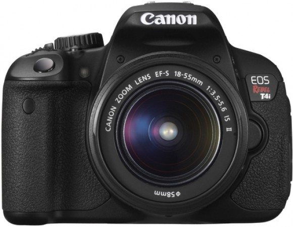 Smart Buy: Get The Canon T4i w/ 18-55mm Kit Lens For Only $599