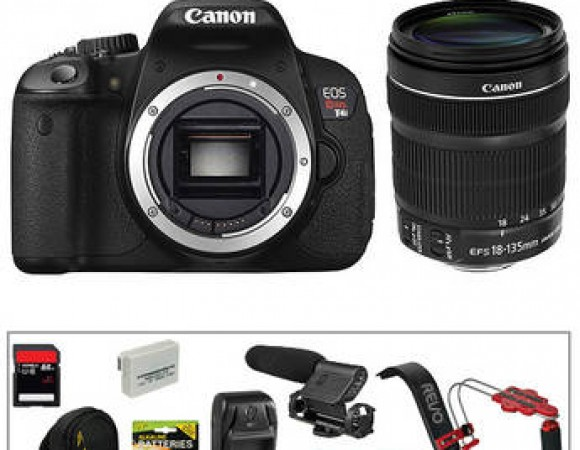 Smart Buy: Get This Canon T4i w/ 18-135mm STM Lens Video Bundle For Only $1,149