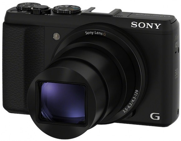 Sony Announces The Cyber-Shot HX50V: 20.4MP Lens, Wi-Fi, & 30 X Optical Zoom