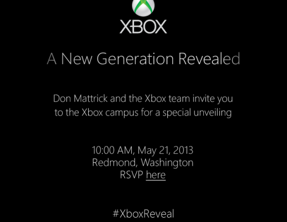 It's Official! Microsoft To Unveil The Next-Generation Xbox On May 21st