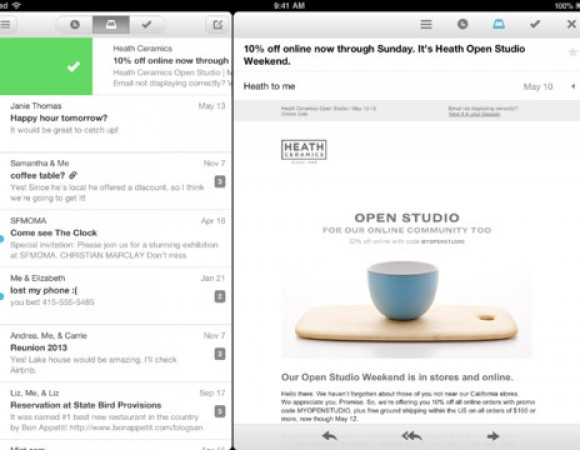 The Gmail App Mailbox, Makes Its Way To The iPad