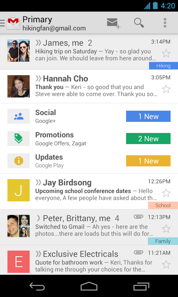 Gmail's Inbox Gets A New Look In Its Latest Update For Android, iOS