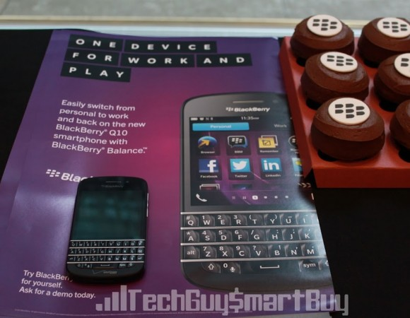 The BlackBerry Q10 Launch At The Grand Central Verizon Store (Video)
