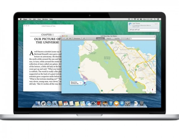 Apple Unveils Mac Os X 10.9 Mavericks, Offering Tabbed Finder Windows,Maps, & iBooks
