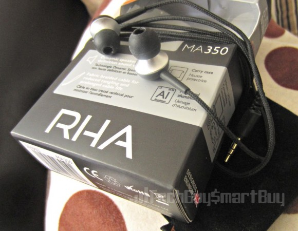 Review: RHA Audio MA 350 Earphones, The Best Sound At The Best Price